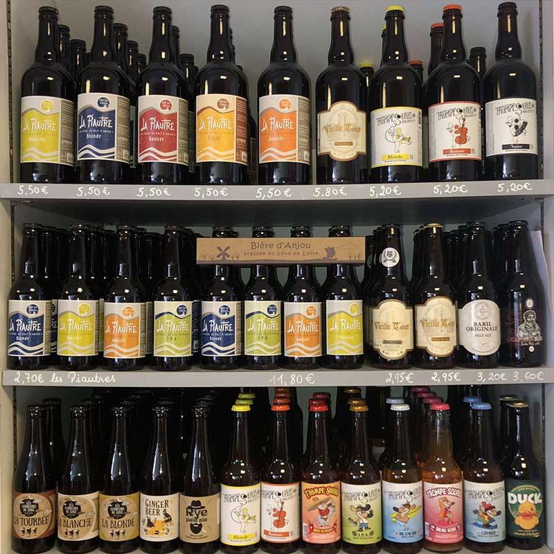 Un large choix de bières locales et artisanales à Sainte-Pazanne | La Cavanaise