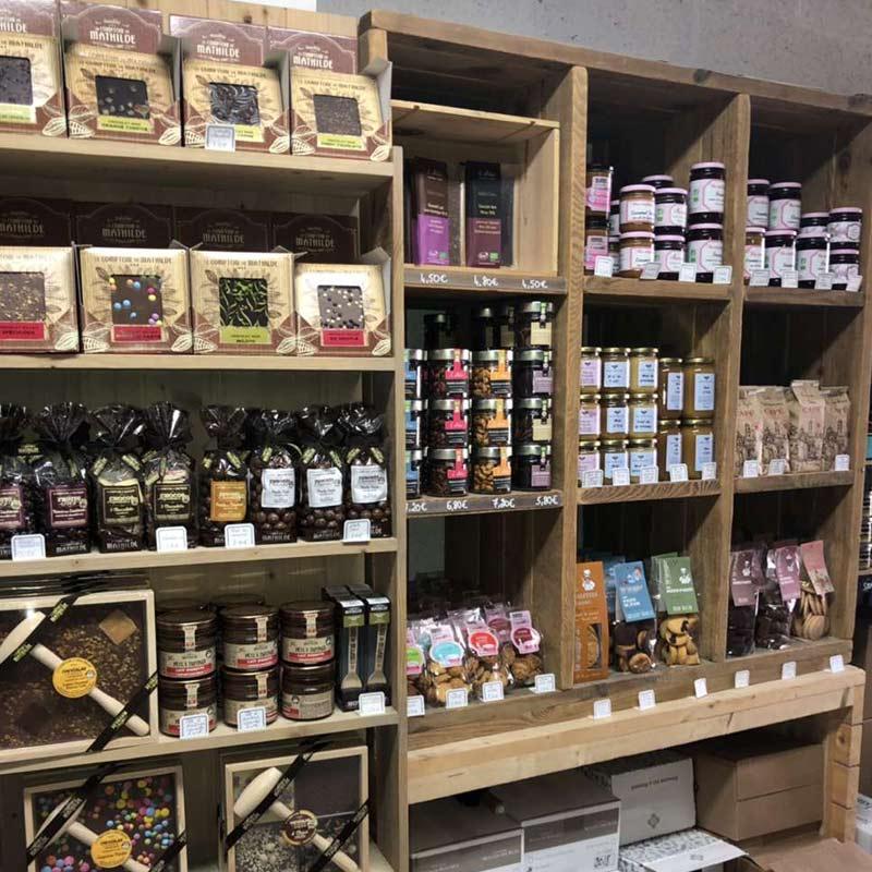 Des produits régionaux au sein de notre rayon épicerie fine à Sainte-Pazanne | La Cavanaise