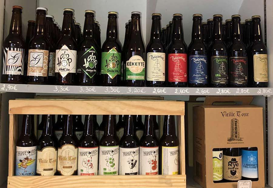 Vente de bières de caractère issues de brasseurs régionaux à Sainte-Pazanne | La Cavanaise